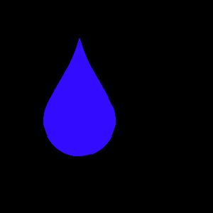 Wasser aus Rissen und Fugen